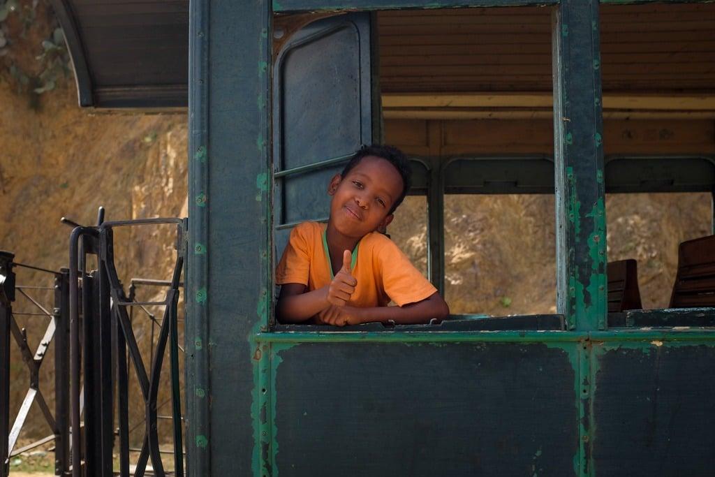 Eritrea train ride