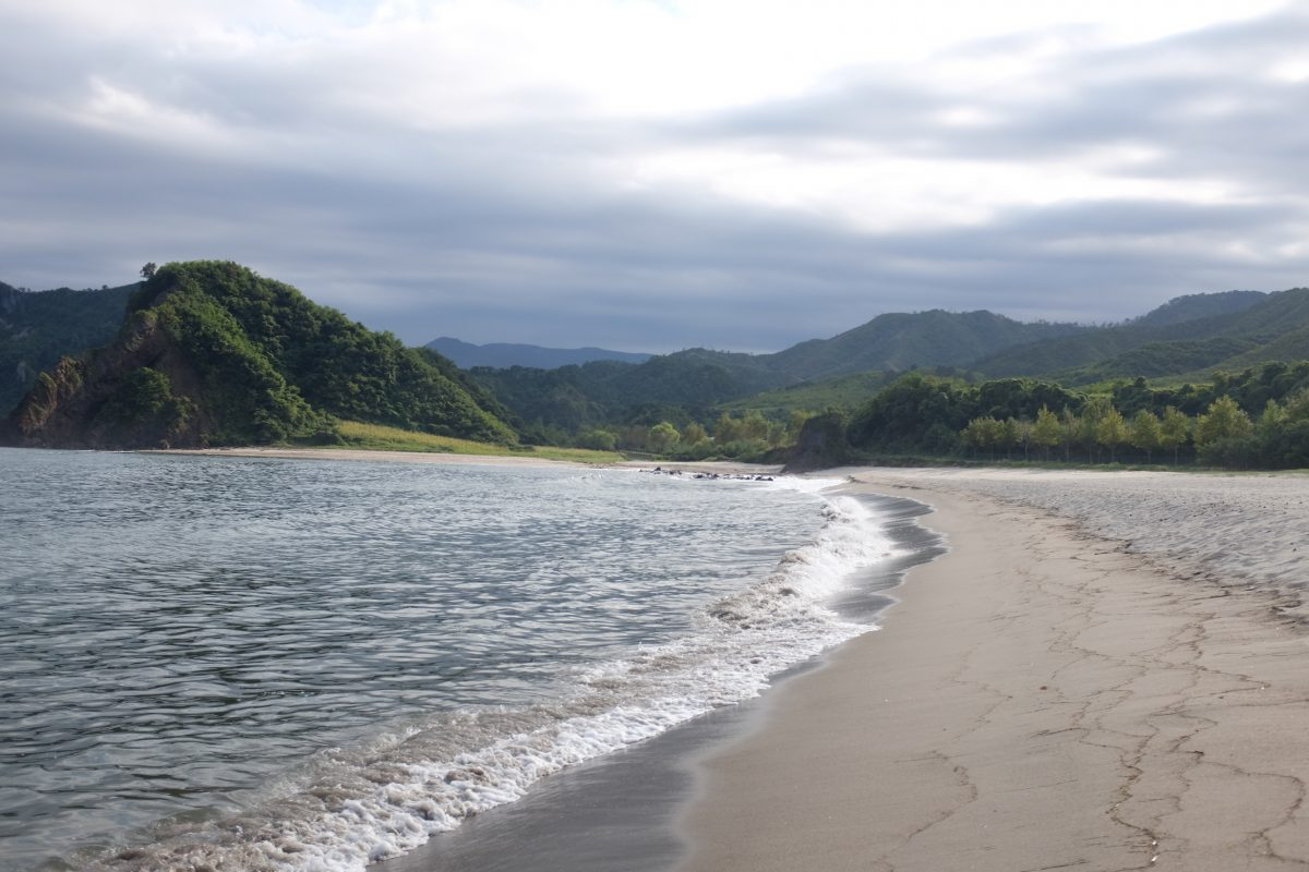 Mount Chilbo beach area, North Korea