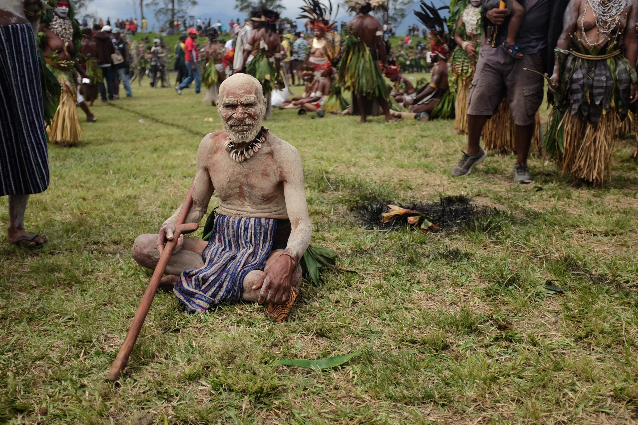Seen during the Mount Hagen fastival, PNG