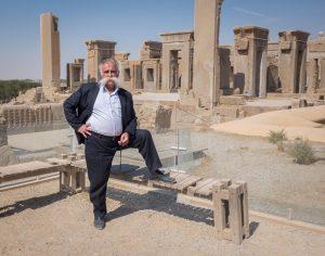 Iranian man at Persepolis