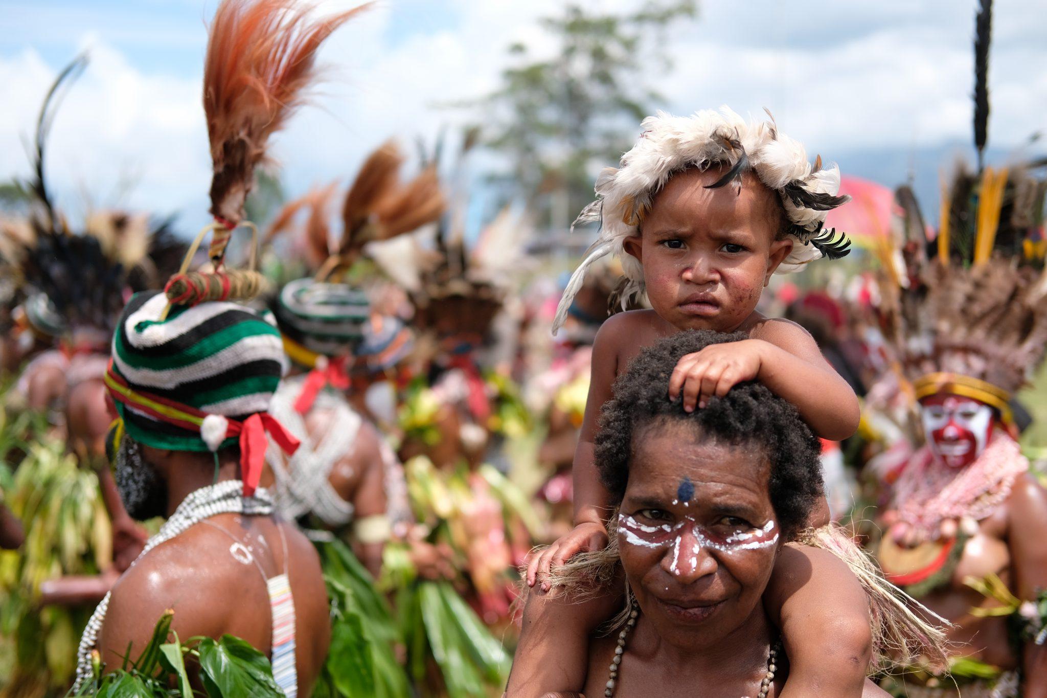 Mount Hagen festival tour, Papua New Guinea