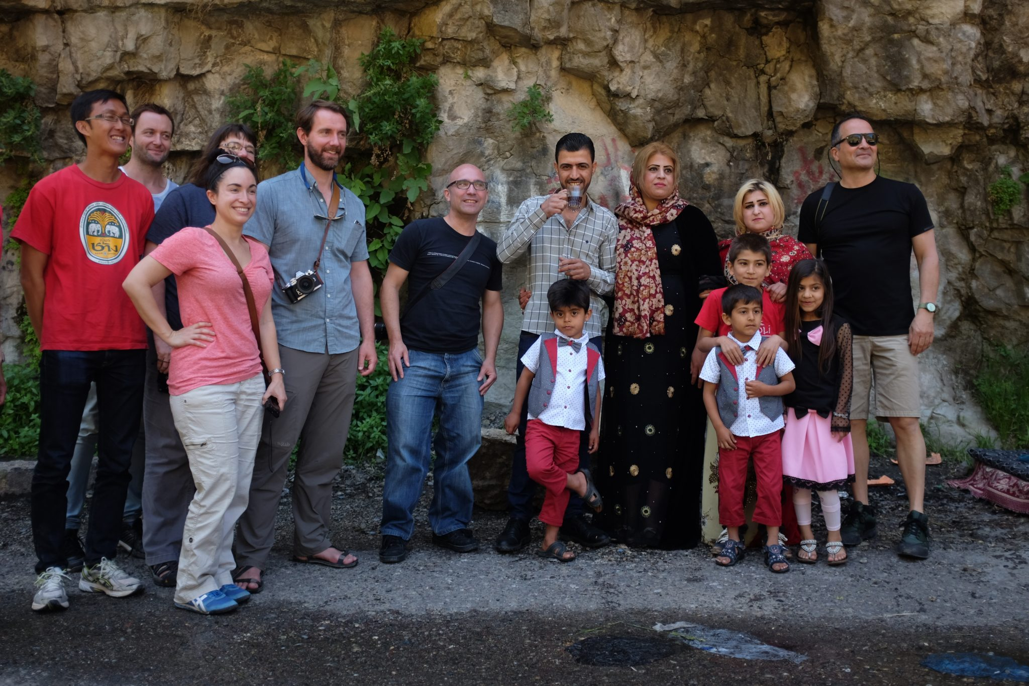 Hanging with locals on the iraqi kurdistan tour