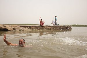 Near Basra, Iraqi marshlands