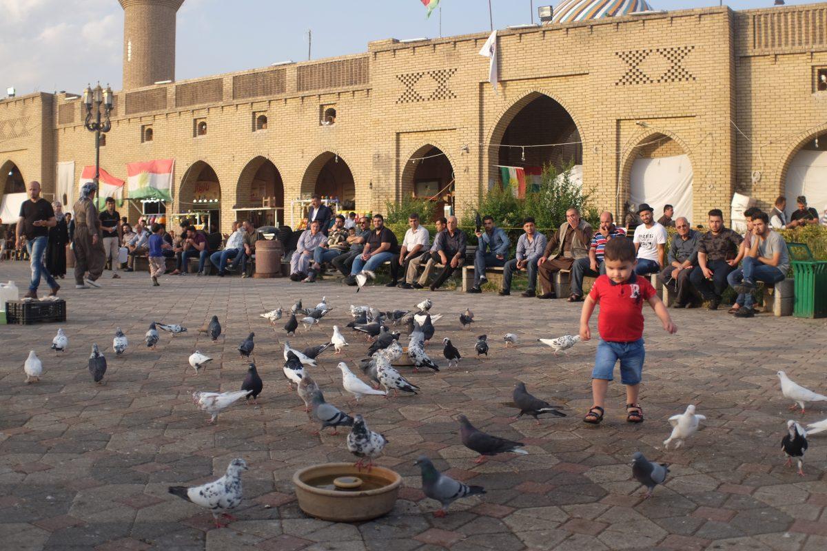 Iraqi kurdistan square