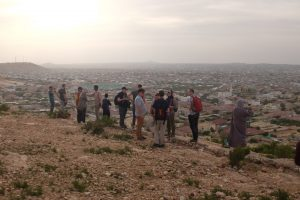On tour in Hargeisa, Somaliland