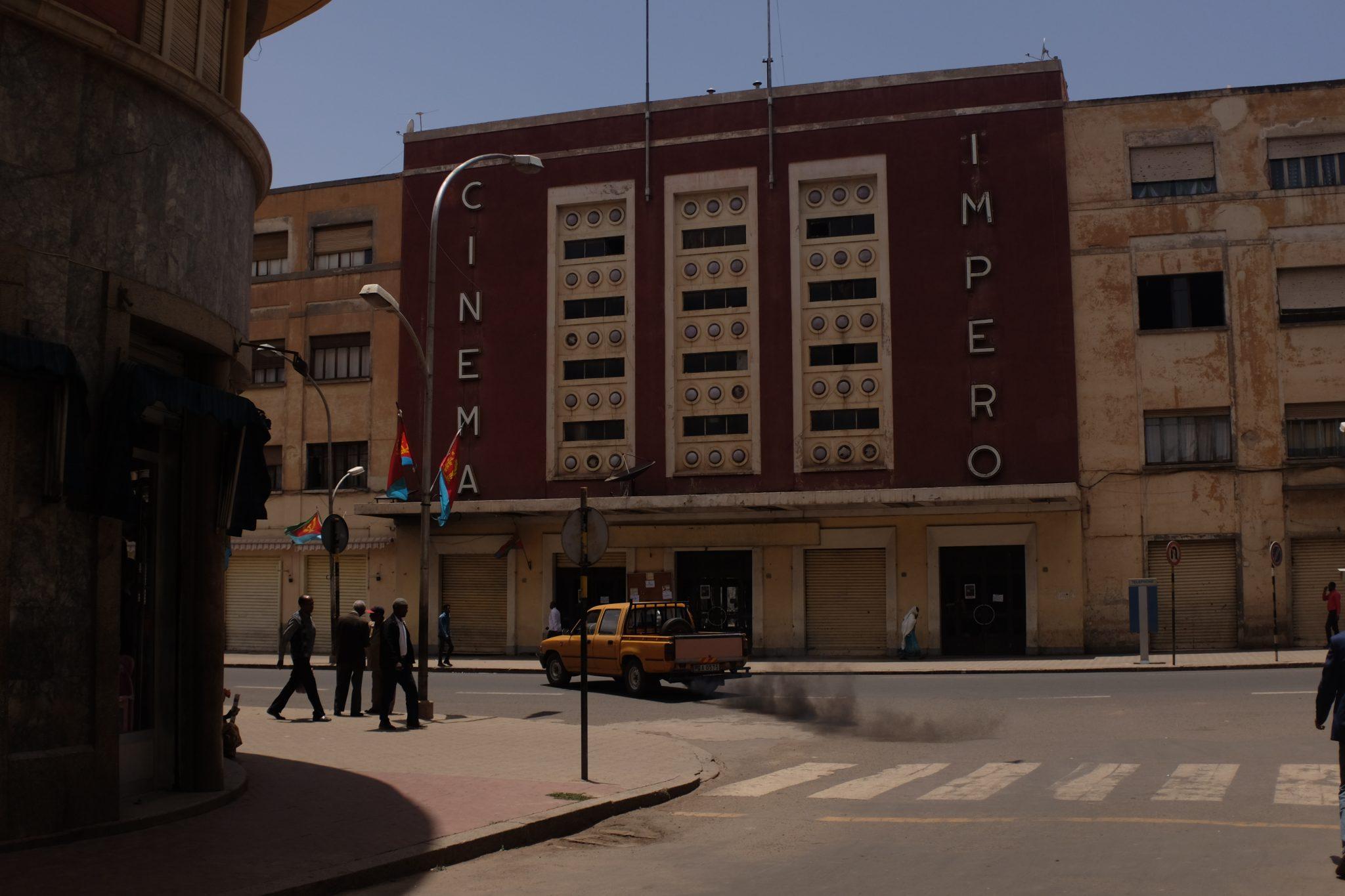 Cinema Impero, Asmara, Eritrea.