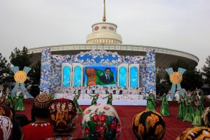 a show seen on our Turkmenistan tours