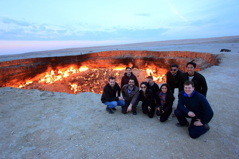 door to hell, seen on all our Turkmenistan tours