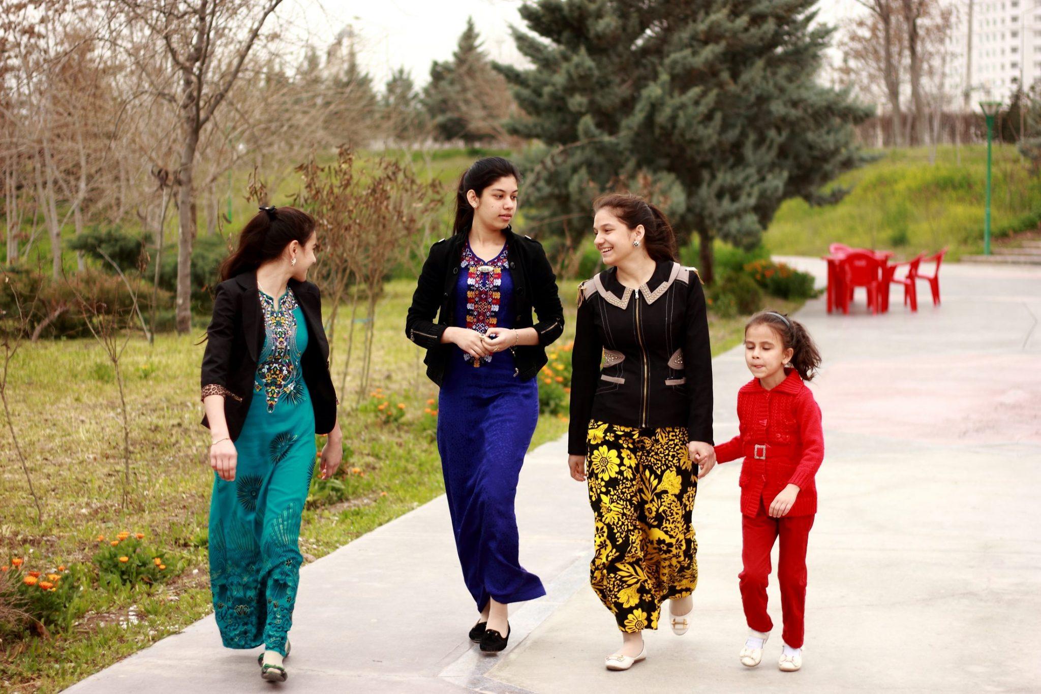 Turkmenistan ladies