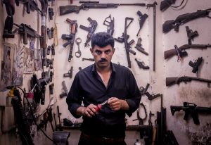 Visit a gun repair store in Erbil, Iraqi Kurdistan on our tours