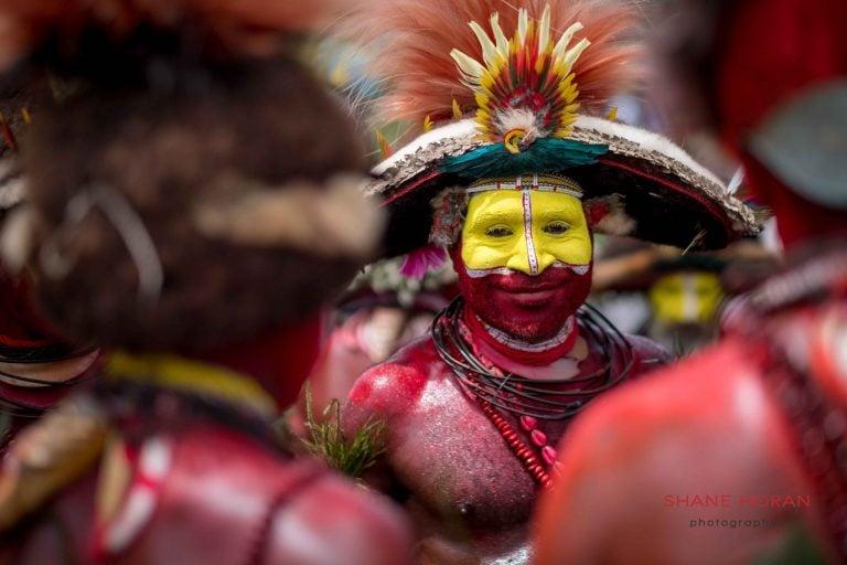 Tribal man on our mount hagen festival tour, PNG