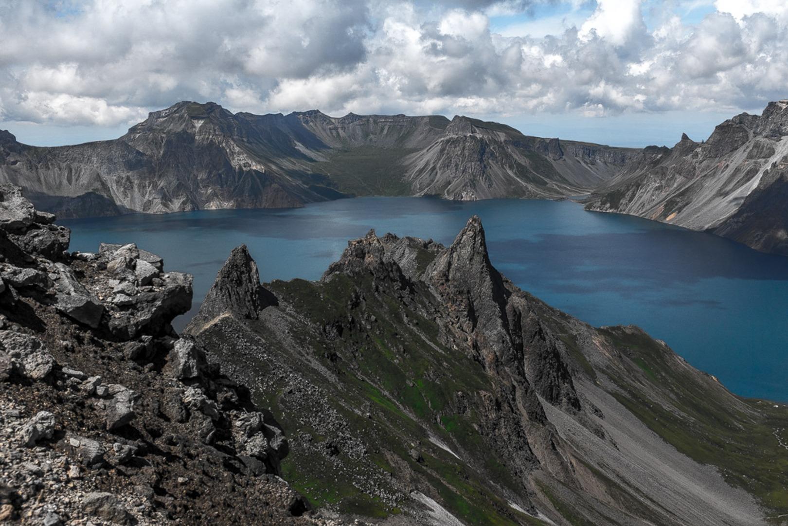Paektusan is a sacred mountain in North Korea