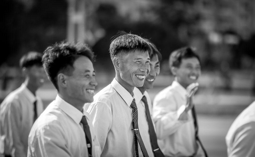 University students in North Korea