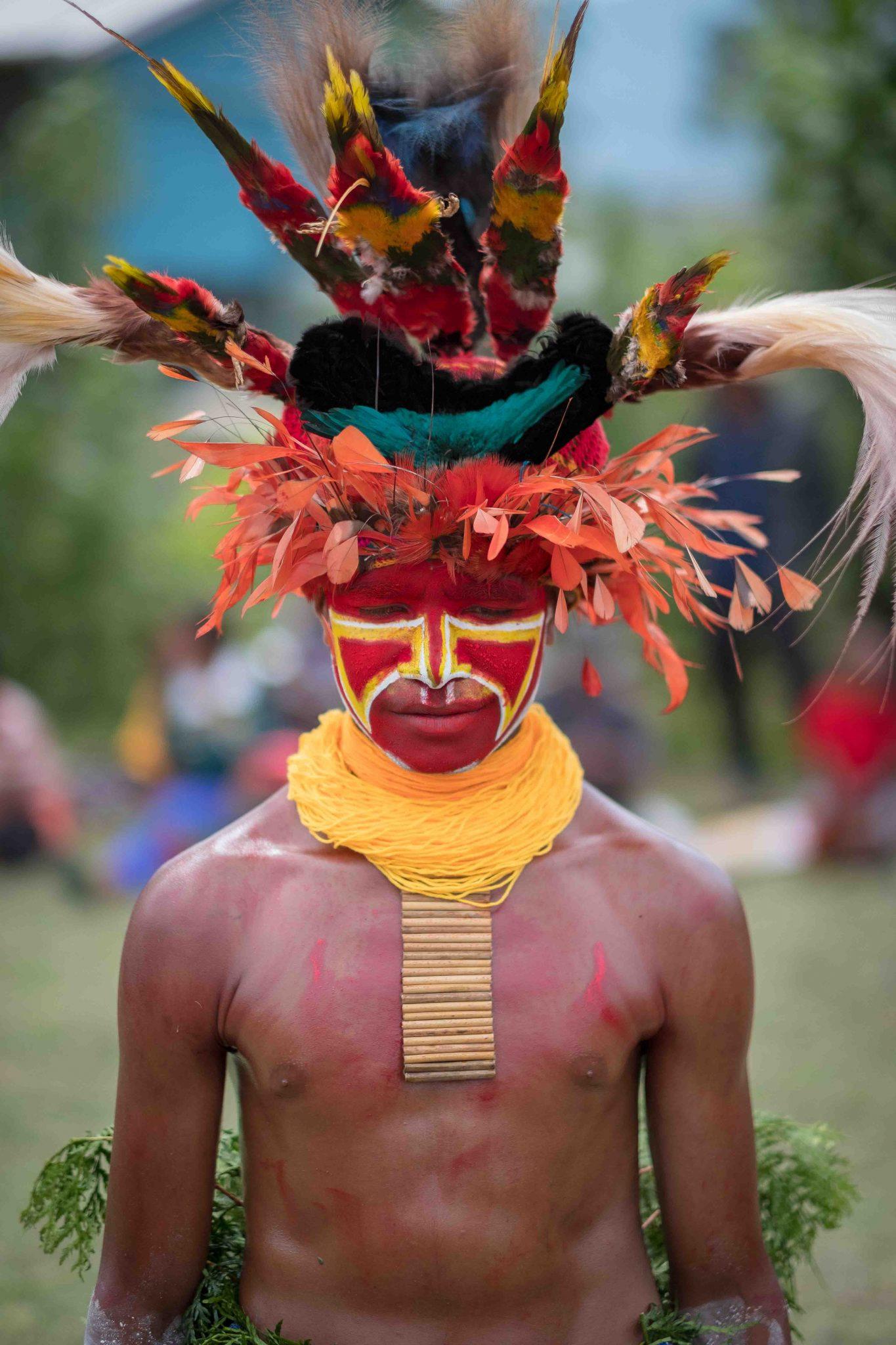 Papuan boy