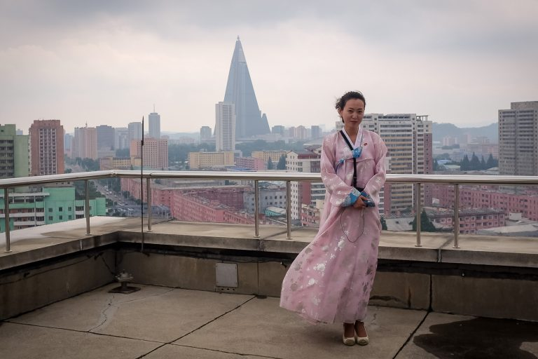 Local North Korean guide