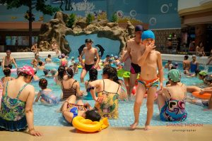 Family day out at Munsu Water Park