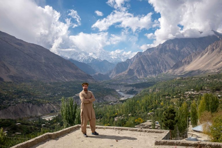 In the Hunza, Valley, Pakistan