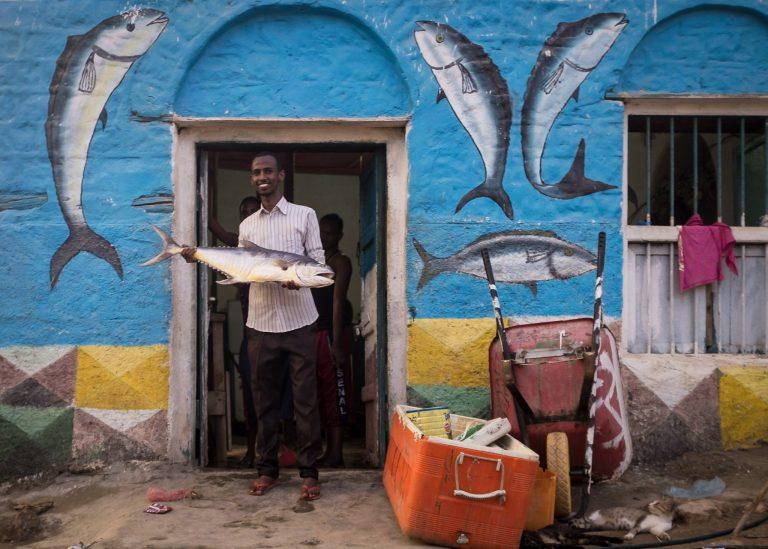 Somaliland fisherman in Berbera