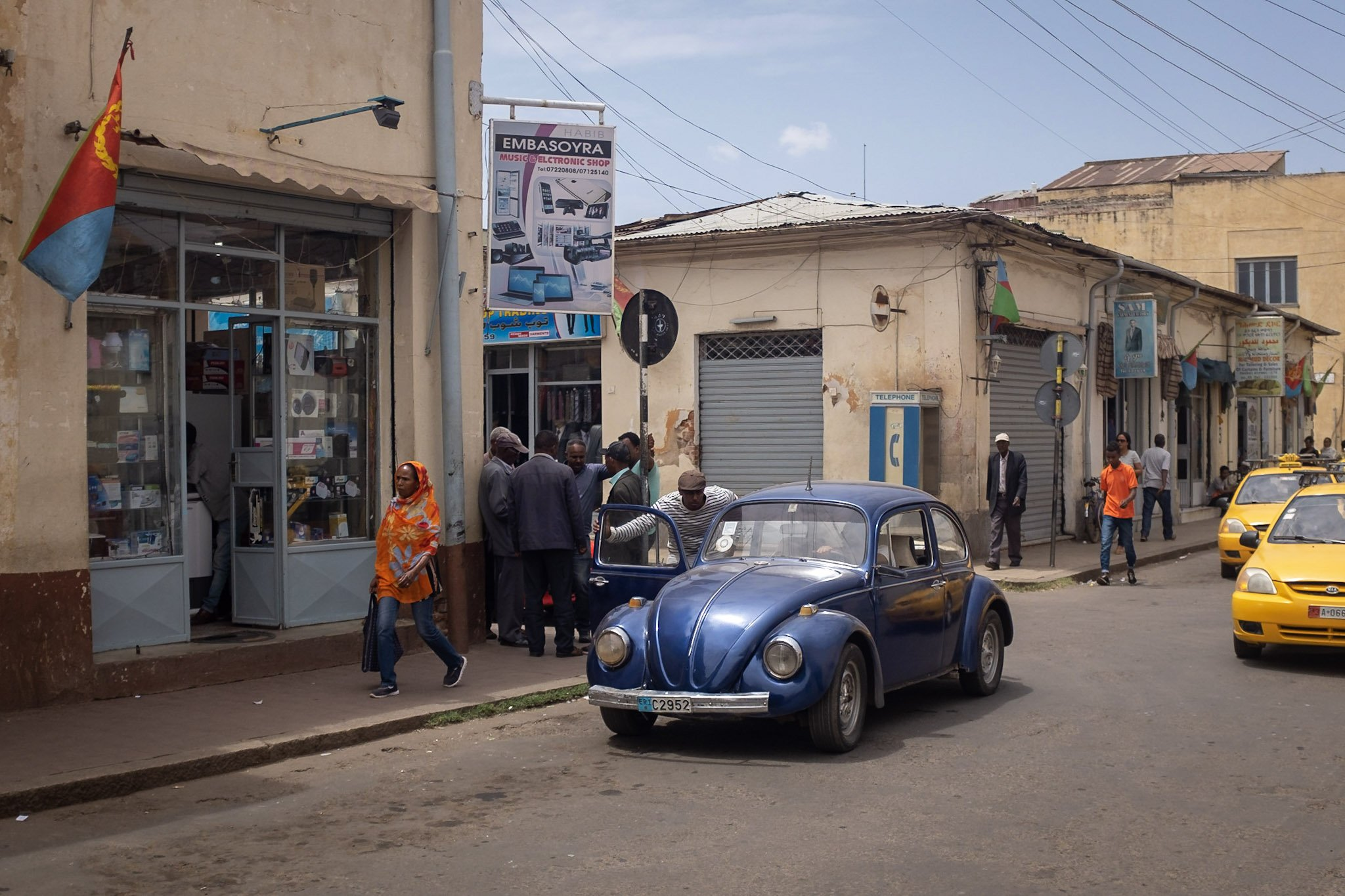 Beatle in Asmara, Eritrea