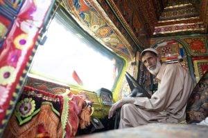 Truck driver, Pakistan