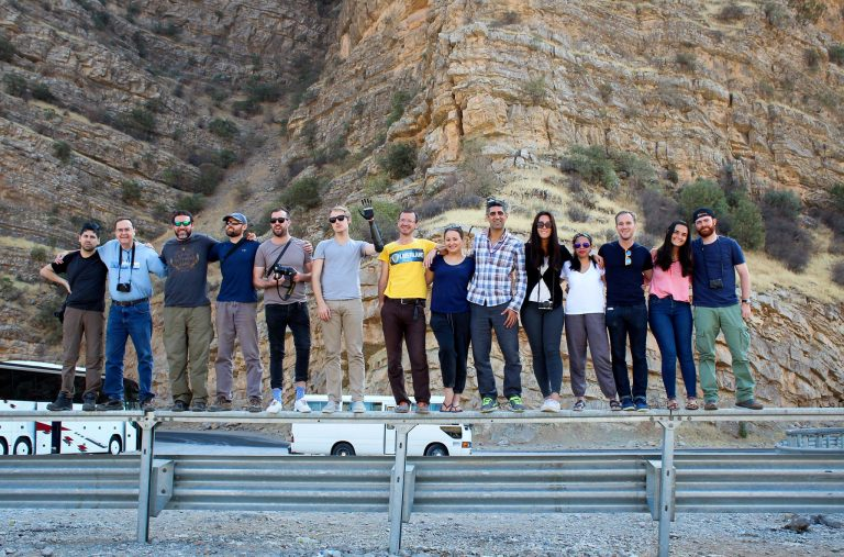 Group tour in Kurdistan