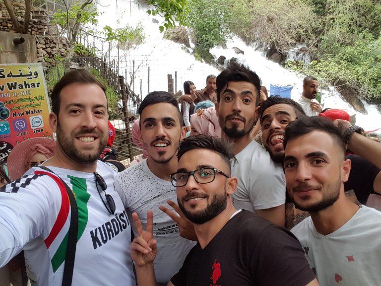 Iraqi Kurdistan selfie