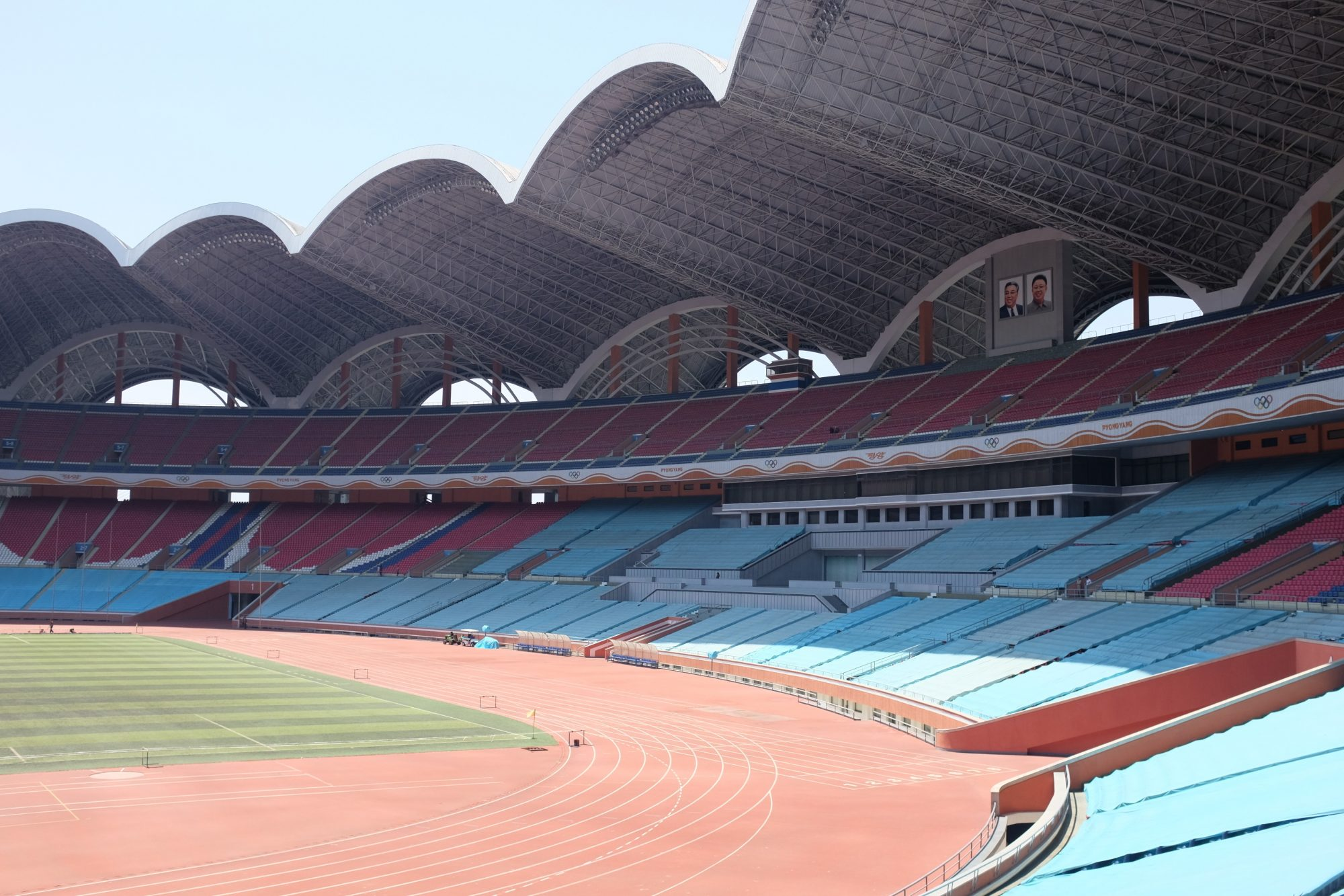 Is Pyongyang's Mayday Stadium really the world's largest?