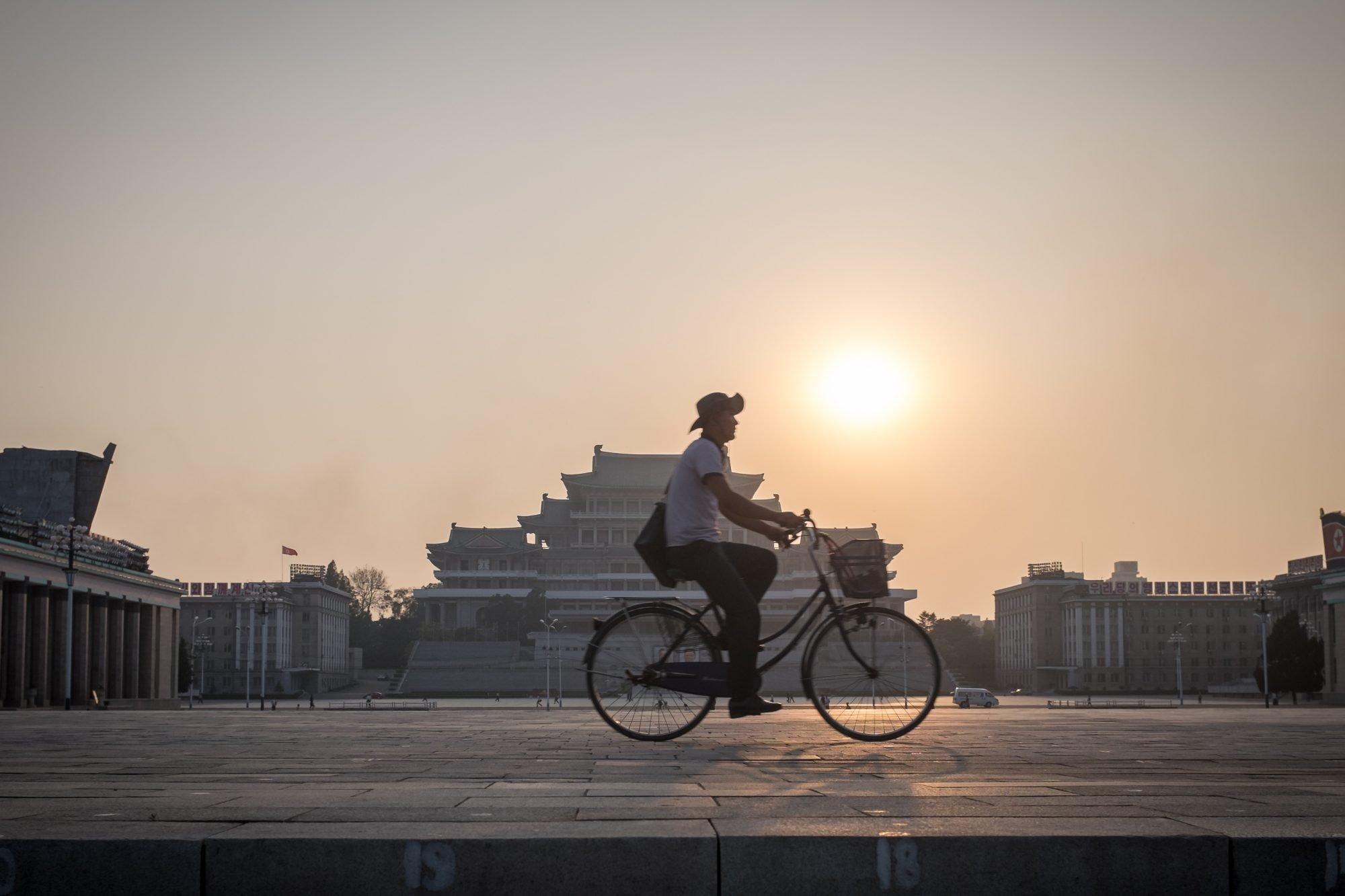 Pyongyang Cyclist