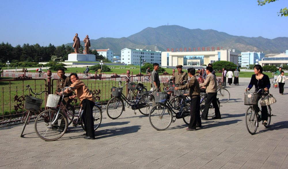 Chongjin city square