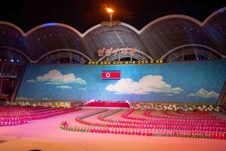 Mass Games opening ceremony, North Korea