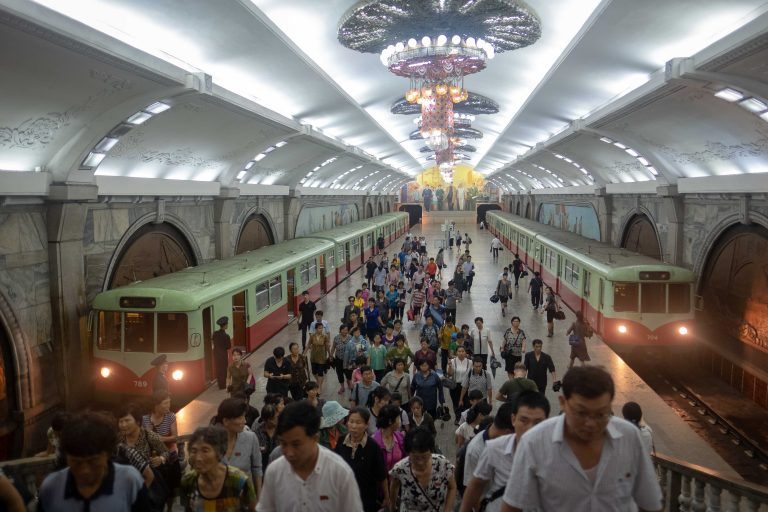 All Pyongyang metro tour, seen on our Untouched North Korea tour