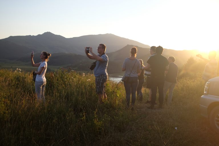 Sunset in South Ossetia