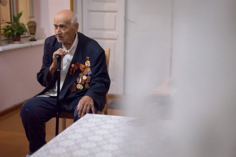 Veteran of the second world war. Met on our South Ossetia Tour