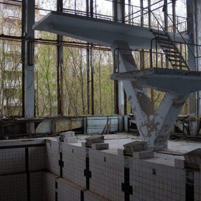 Chernobyl swimming pool