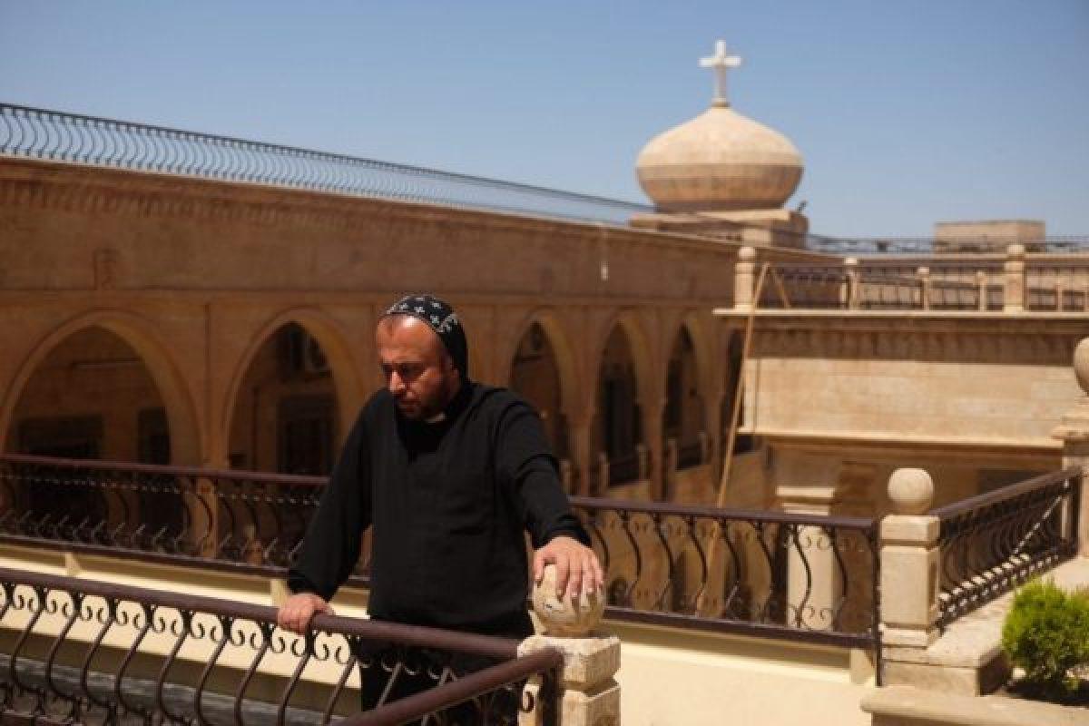 Iraqi christian monastery on our Iraq tour