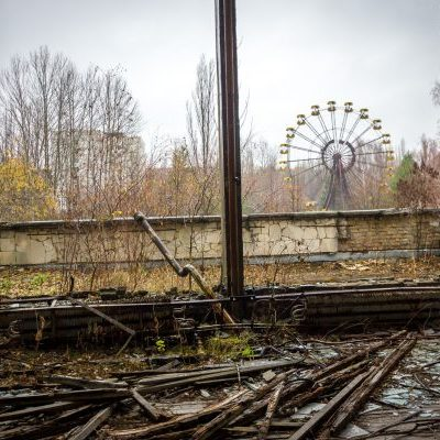 Chernobyl funfair on tour with Rocky Road Travel