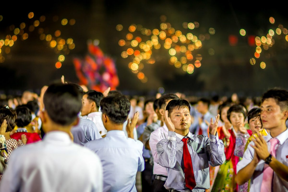 Liberation day North Korea